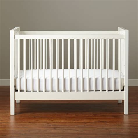 andersen crib white  land  nod
