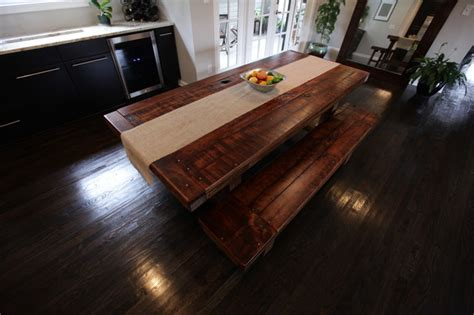houzz dining room tables rustic trades dining tables eclectic dining room