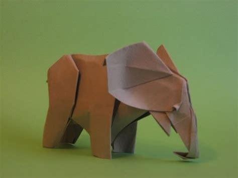 Elephant Origami Tutorial - origami instrucciones de plegado elefante