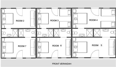 Plan 2 Bedroom House by Guesthouse Room Layouts Amp Decormegalong Farm