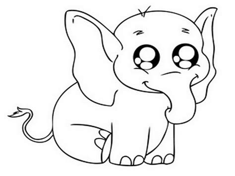 printable baby eyes cute cartoon animals with big eyes coloring pages