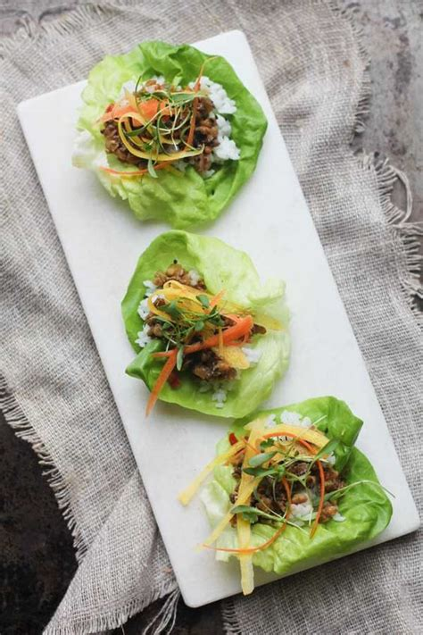 Gloriously Wonderful Japanese Cooking Blogs by Asian Lettuce Wraps Lettuce Wraps And Wraps On