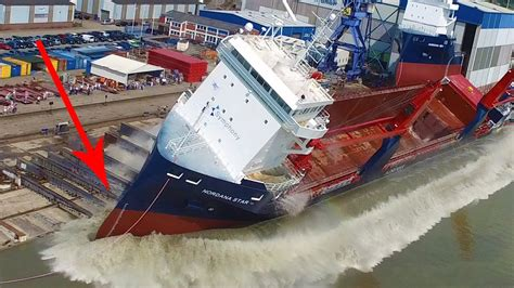best creies compilation big ship launch compilation 12 awesome ship launches