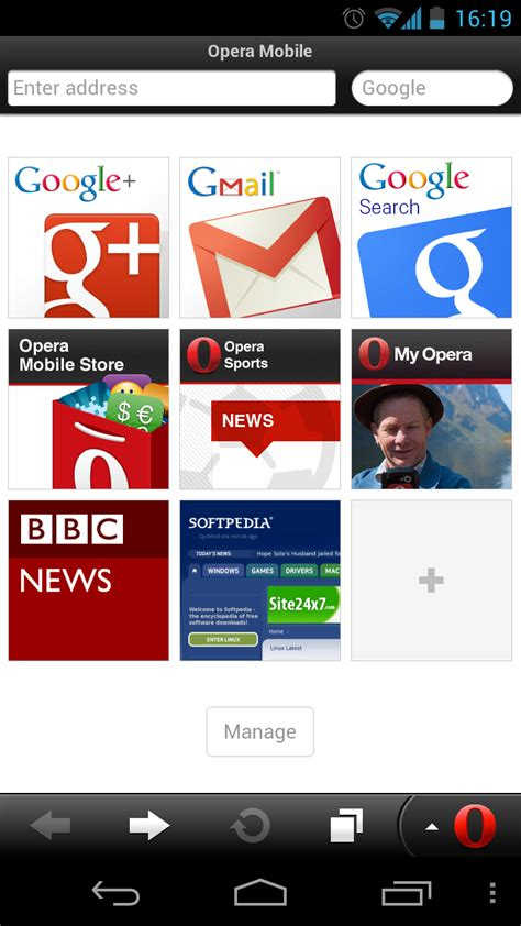 opera android opera mobile for android 12 1 2 softpedia