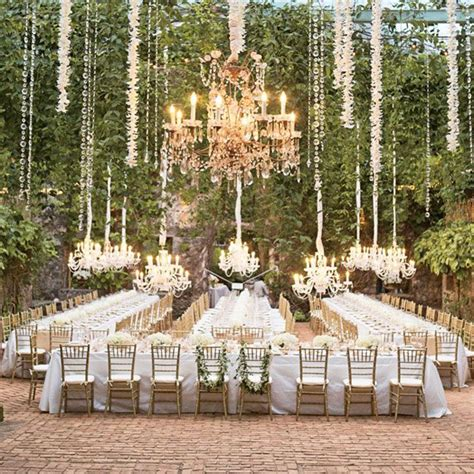 Outdoor Wedding Venues by Beautiful Outdoor Wedding Venue Decor Weddingelation