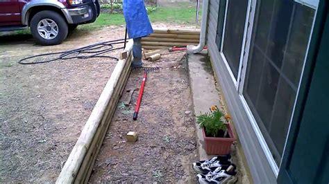 outdoor garden design inspiring landscape timbers