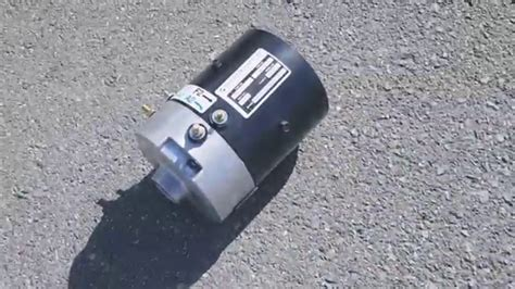 ezgo golf cart motor ezgo pds dcs advanced motors 36 48 volt golf cart motor