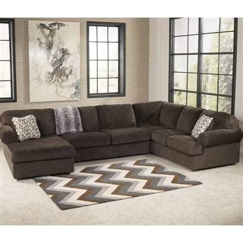 ashley furniture sectional couches signature design by ashley jessa place 3 pc sectional