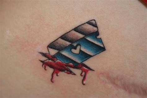 razor blade tattoo ink