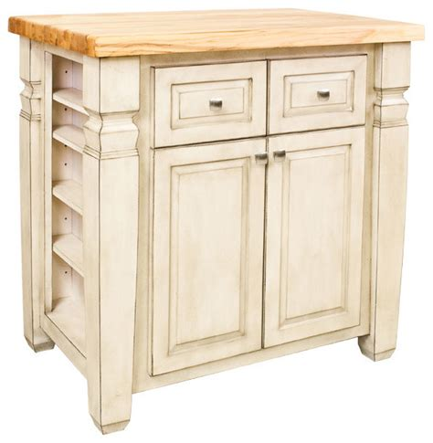 boston kitchen island cabinet antique white