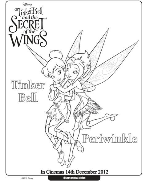 tinker bell and periwinkle coloring pages at www