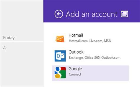 Add Calendar To How To Sync Shared Calendars On Windows 8