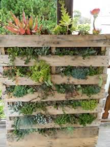 pallet planter small yet big landscape ideas pinterest