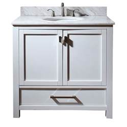 Sink Vanity In 36 Inch Single Sink Bathroom Vanity With Choice Of Top