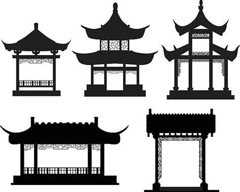 chinese house coloring page japan clipart japan traditional house pencil and in
