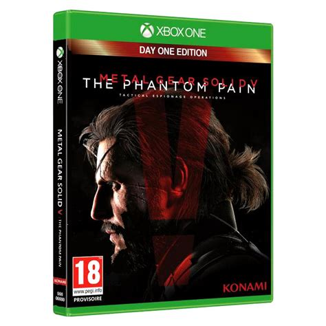 Metal Gear Solid V The Phantom Day One Edition metal gear solid v the phantom day one edition xbox one pccomponentes
