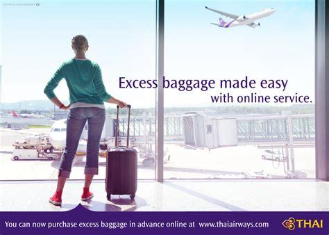 thai airways baggage allowance thailand travel forum news details news annoucement thai airways