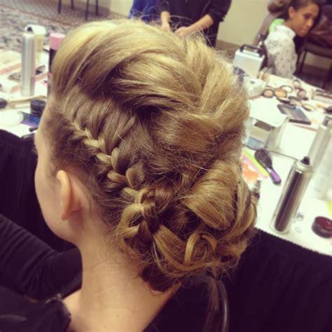 show me braided weave romantic crown braid fashion show google search