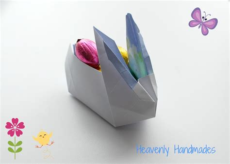 Origami Rabbits - heavenly handmades diy origami bunny
