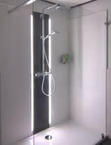 dusche kunststoffplatten thbwall f 252 r das fugenlose bad badgestaltung und