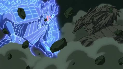 Kaos Anime Madara Vs Hashirama madara vs hashirama shippuuden myanimelist net