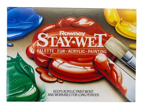 acrylic paint mixer daler rowney stay palette for acrylic paint mixing