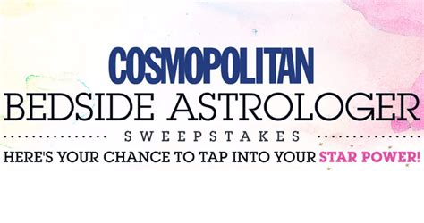 Cosmopolitan Sweepstakes - bedside astrologer autos post