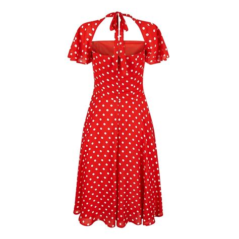 polka dot swing dress collectif vintage juliet polka dot swing dress collectif