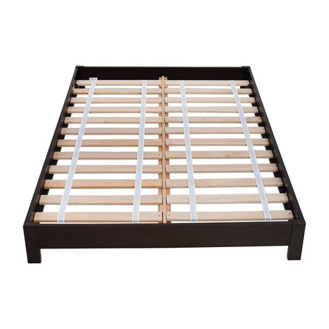 44 Off West Elm West Elm Simple Low Full Size Platform Bed Frames For Size Beds