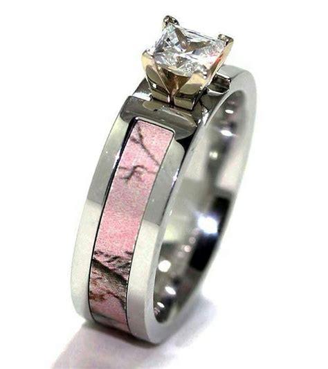 camo wedding bands with diamonds mini bridal