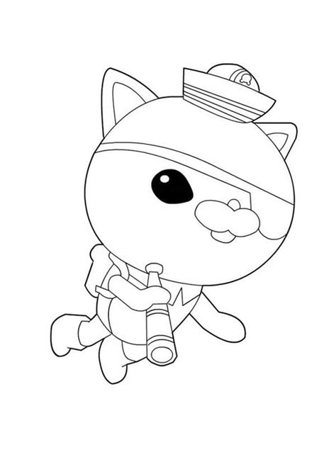 free octonauts coloring pages for kids coloringstar