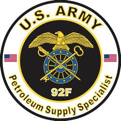 Petroleum Supply Specialist by Us Army Mos 92f Petroleum Supply Specialist