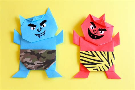 Origami Oni - origami oni gallery craft decoration ideas