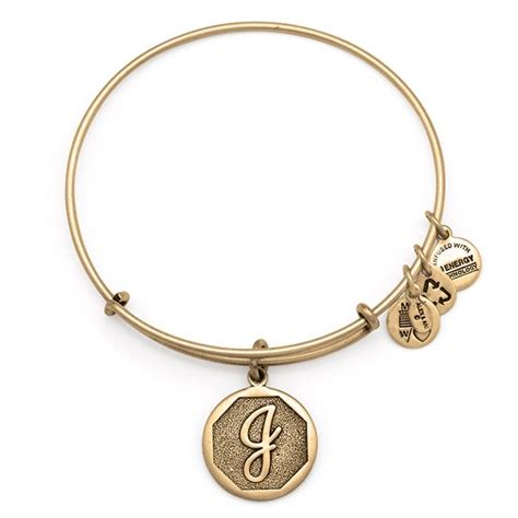 Initial J Charm Bracelet   Alex and Ani from Alex and Ani