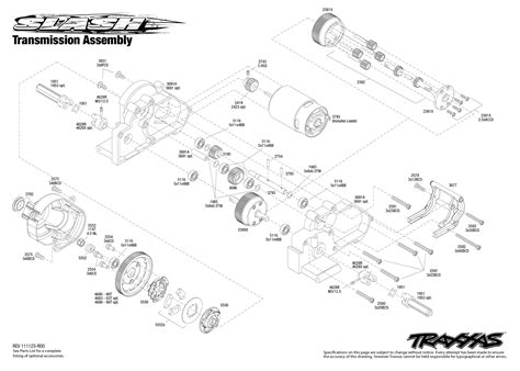 traxxas slash diagram 5803 transmission exploded view slash with tqi 2 4ghz