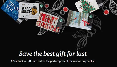 E Gift Card Starbucks - starbucks egift cards for a great last minute gift common sense with money