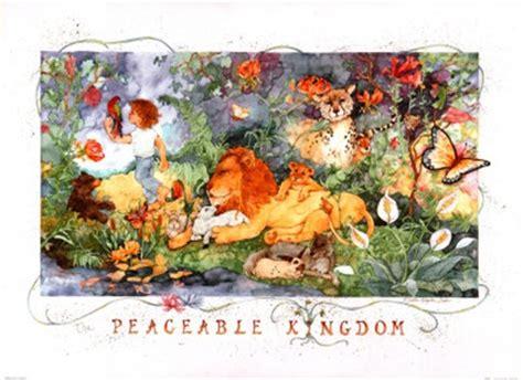peaceable kingdom fine art print by debbie kingston baker