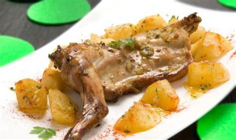 como cocinar un conejo al ajillo receta de conejo al ajillo al horno unareceta