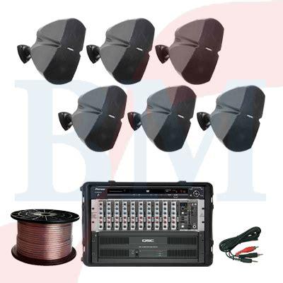 Speaker Jbl Kecil Paket Column Speaker Proel Paket Sound System Profesional Indonesia