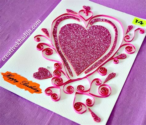 How To Prepare Handmade Greeting Cards - how to make handmade eid cards greeting birthday wishing