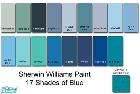 image gallery sherwin williams blue