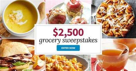Grocery Giveaway Contest - bhg 2 500 grocery sweepstakes 2017