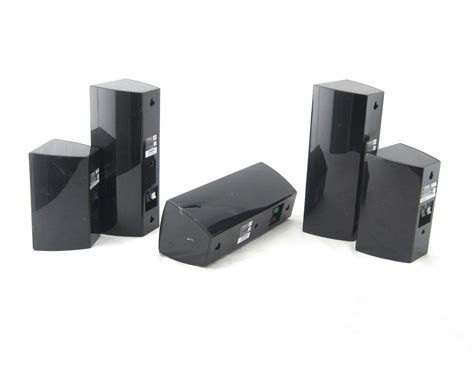 set of 5 onkyo 370 home theater speaker system surround