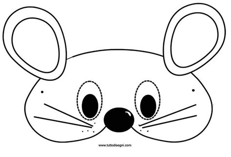 mouse mask carnival pinterest mice masks and mouse mask