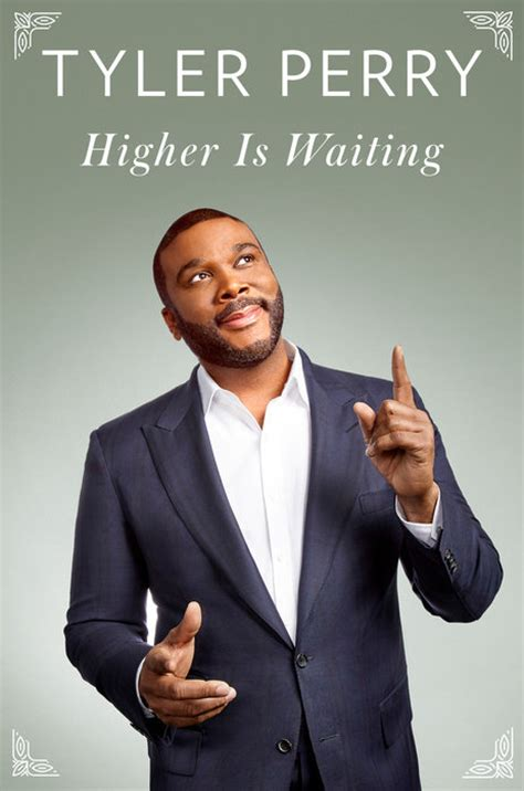perry introduces new book higher is waiting