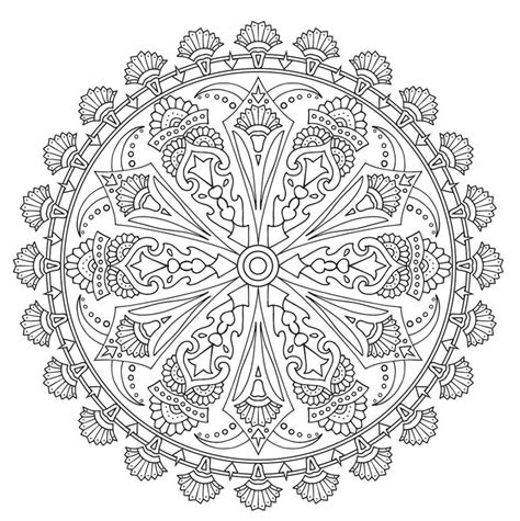 mandala coloring pages livro 17 best images about mandalas on tree of