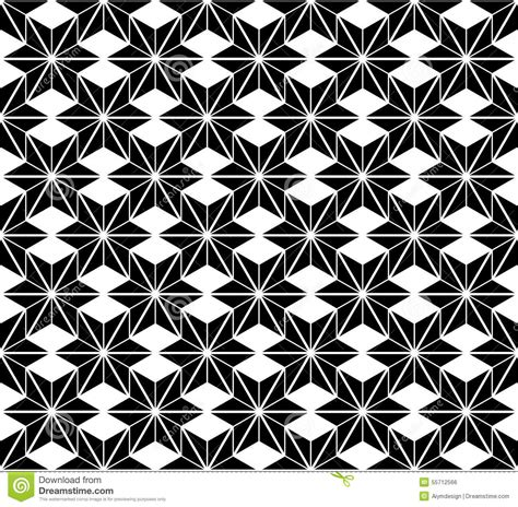 star pattern black and white black and white star seamless pattern stock vector image