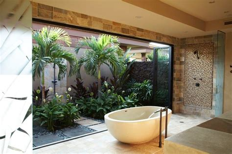 hawaiian badezimmer zen bathroom kolonialstil badezimmer hawaii