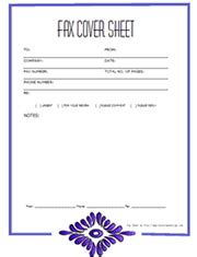 free resume fax cover sheet template pdf free printable fax cover sheets
