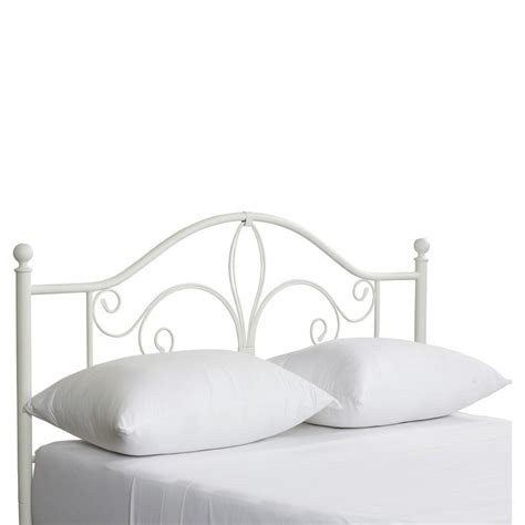 white metal headboards 1000 ideas about white metal headboard on cheap beds leather headboard and metal
